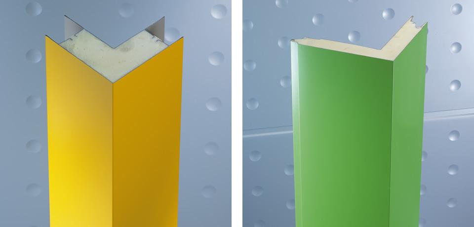 Angolo schiumato retto | Right angle foam - © Copyright Elcom System Spa - Tutti di diritti riservati / All rights reserved