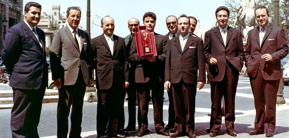 """Il premio europeo """"Mercurio d'Oro"""" assegnato a Luigi Granieri   """"The Gold Mercury"""" awarded to Luigi Granieri - © Copyright Elcom System Spa - Tutti di diritti riservati / All rights reserved"""