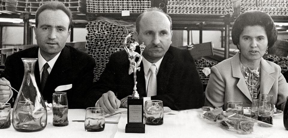 Il Commendatore Luigi Granieri, fondatore Elcom System (1927 – 2008) | Commendatore Luigi Granieri, founder of Elcom System (1927 - 2008) - © Copyright Elcom System Spa - Tutti di diritti riservati / All rights reserved